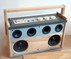 Cool Looking Speakers Turn An Old Loudspeaker Into A Self Amplified Bluetooth Speaker