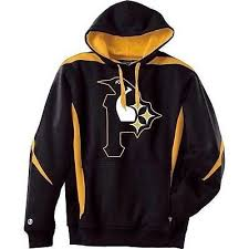 pittsburgh nation 3 seasons morphed logo hoodie sweatshirt