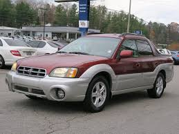 subaru baja off road used 2003 subaru baja base for sale in asheville nc vin