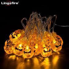 3d designed halloween pumpkin decor led string lights led lanterns