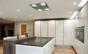 kitchen island extractor lighting your kitchen