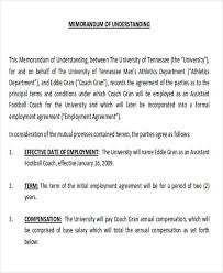 mutual understanding agreement format mutual non disclosure