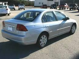 honda civic ex 2001 2001 honda civic 4 door sedan ex automatic carfax