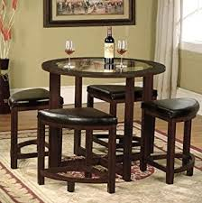 Rochester Dining Room Furniture Baxton Studio Rochester Brown Modern Bar Table Set