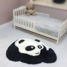 wool carpet sheepskin mats pure wool carpet child blanket panda