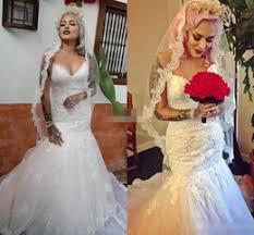 discount romantic lace cheap winter wedding dresses 2017