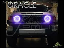 fj cruiser car 07 14 toyota fj cruiser led colorshift halo rings headlights bulbs