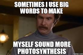 Big Words Meme - big words meme funny image photo joke 02 quotesbae