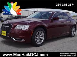 mac haik dodge chrysler jeep ram houston tx 2018 chrysler 300 touring l sedan in houston c8008 mac haik