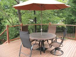 nice deck table and chairs on interior decor home ideas with deck