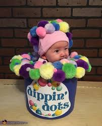 Infant Octopus Halloween Costume Dippin Dots Costume Buckets Costumes Unique