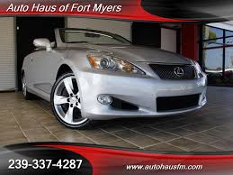 2010 lexus is 350c ft myers fl for sale in fort myers fl stock