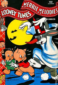 looney tunes merrie melodies 1941 dell comic books