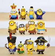 qoo10 12pcs despicable me 2 minion in figures day
