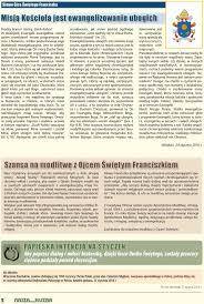 intencje papieskie na 2014 rok dla apostolstwa modlitwy srebrny jubileusz ordynariatu polowego pdf