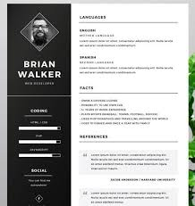 fancy resume template 40 best free resume templates 2017 psd ai