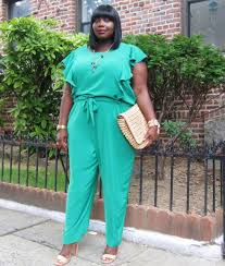 Trendy Plus Size Jumpsuits Style Journey Dkny Plus Size Ruffled Jumpsuit Stylish Curves