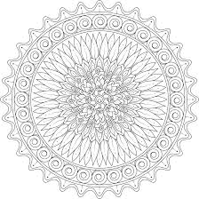 kindled love mandala coloring page by varda k mondaymandala