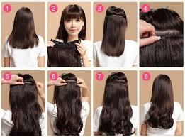 hair clip rambut asli tips memasang hair clip sendiri wigime