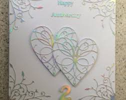 170 Wedding Anniversary Greetings Happy 2nd Anniversary Card
