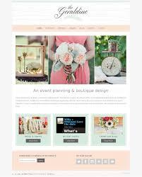 wedding planner website geraldine theme wedding theme or wedding planner site