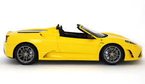 ferrari yellow car ferrari f430 scuderia spider 16m 2008 scale model cars