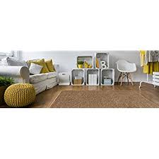 Decorative Rugs For Living Room Amazon Com Soft Shag Area Rug 3x5 Plain Solid Color Beige