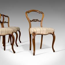 Set Of Four Dining Chairs Antique Set Of Four Dining Chairs Rosewood