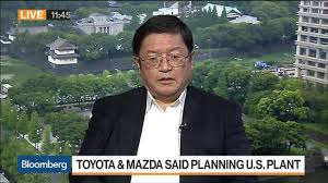 Jeremy Barnes Mazda Toyota And Mazda Seek 1 Billion Incentive Package For U S Plant