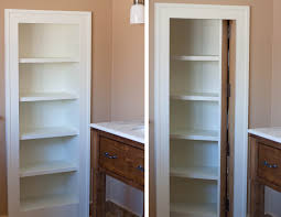 marvelous built in bathroom storage cabinets