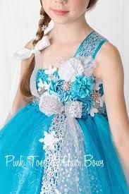 winter wonderland tutu dress elsa frozen inspired tulle dress