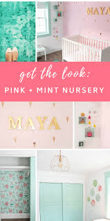 Diy Nursery Decor S Bright And Cheerful Diy Nursery The Sweetest Digs