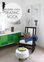 Bedroom Decor Space Reading Corner Nook Seating Reading Den