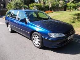 blue peugeot for sale used peugeot 406 2000 diesel 2 1 td lx 5dr estate blue edition for