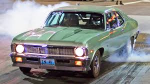 badass cars badass turbo nova 8 second street car youtube