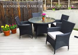 MODERN OUTDOOR DINING FURNITURE KB FURNISHINGS - Upscale outdoor furniture