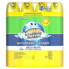 Dow Bathroom Cleaner by Scrubbing Bubbles Foaming Bathroom Cleaner 25 Oz 4 Pk Sam U0027s