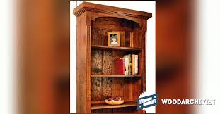 25 cool woodworking plans bookcase egorlin com