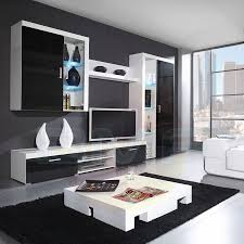 high gloss black living room furniture living room ideas