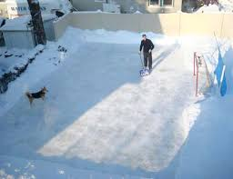 Backyard Ice Skating Rink Studio647 Welcome Back Hockey The