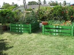 Raised Garden Beds From Pallets - using pallets for raised garden beds best home design ideas