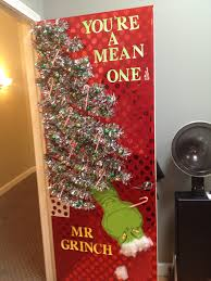 your a mean one mr grinch door decor pinterest grinch