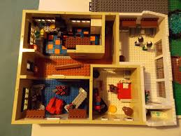 theoneveyronian s most recent flickr photos picssr lego modern british semi detached house ground floor plan view