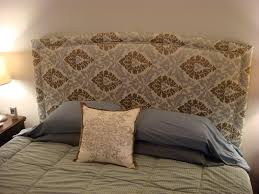 bedroom delightful dishing up design diy upholstered headboard