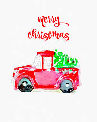 christmas trees on cars christmas tree watercolor and cars