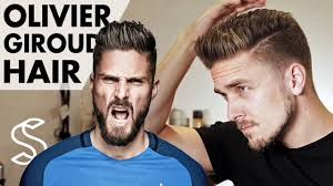 Which Hairstyle Suits Me Men by Olivier Giroud Hairstyle 2017 Arsenal Footballer Short Men