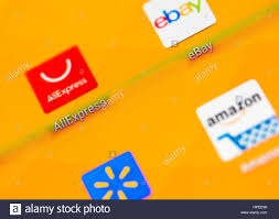 aliexpress shopping the icons of aliexpress ebay amazon and walmart online shopping