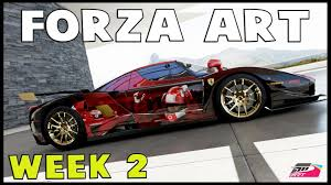 forza art week 2 the best paints in forza youtube