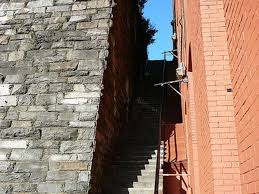 Death Stairs by Mapping The Filming Locations Of The Exorcist