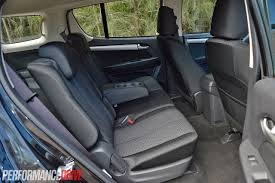 lexus ls backseat 2014 isuzu mu x ls m rear seats